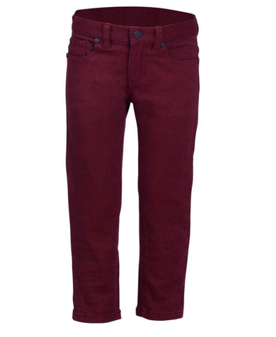 Boys Pant in 97% Cotton and 3 % Elastine Twill ( Strech Twill)