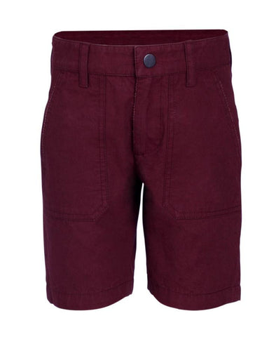 Boys Short in 100% Cotton Twill Peached