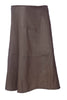 Womens Panelled Skirt in Cotton Linen Fabric