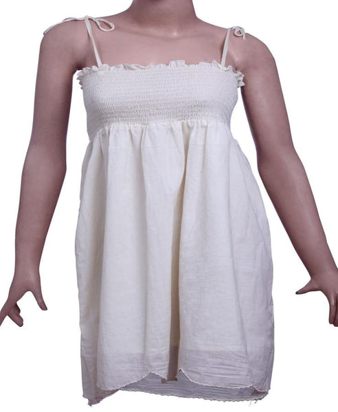 Womens Strap dress in 100% Cotton Lawn