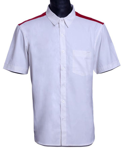 Mens Short Sleeve shirt in 100% Cotton Poplin