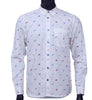 Mens 100% Cotton Printed Long Sleeve Shirt