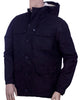 Mens Jacket in Poly Cotton Fabric in long sleeves with Sherpa Lining