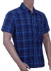 Mens 100% Cotton Yarn Dye Check Shirt