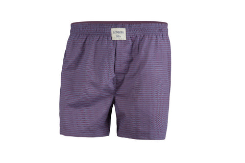 Mens 100% Cotton Elasticated Boxers