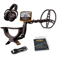 "Garrett ACE APEX Metal Detector with 8.5"" x 11"" Raider Coil and Wireless Headphones"