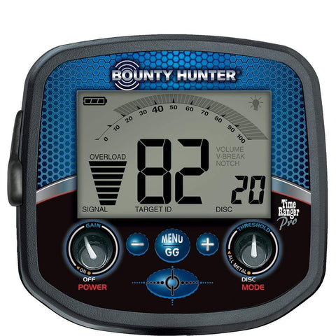 "Bounty Hunter Metal Detectors Bounty Hunter Time Ranger Pro Metal Detector with Waterproof 11"" DD Coil PROTIME"