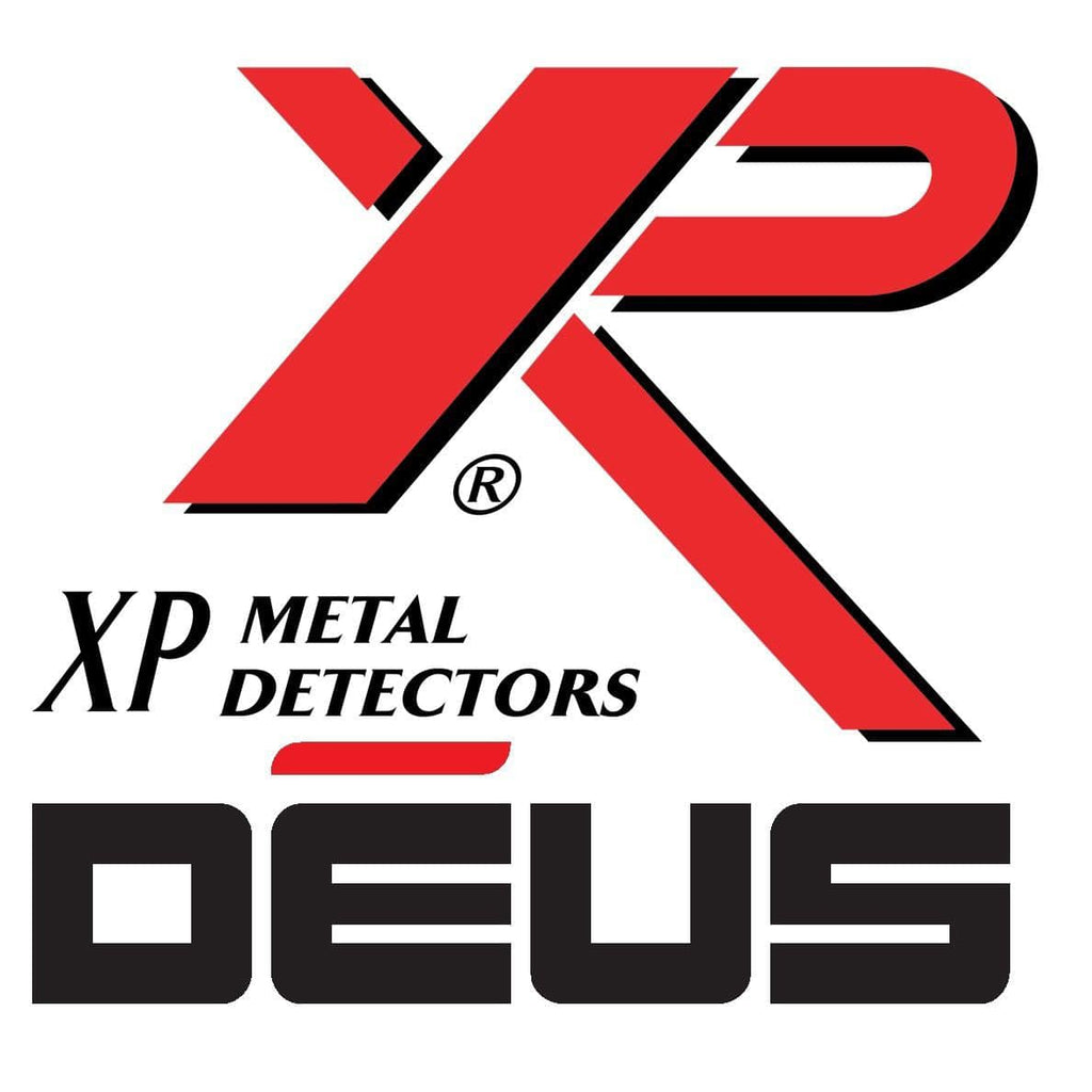 XP Deus 9.5″ x 5″ Elliptical DD HF Search Coil with Cover, Lower Shaft & Parts