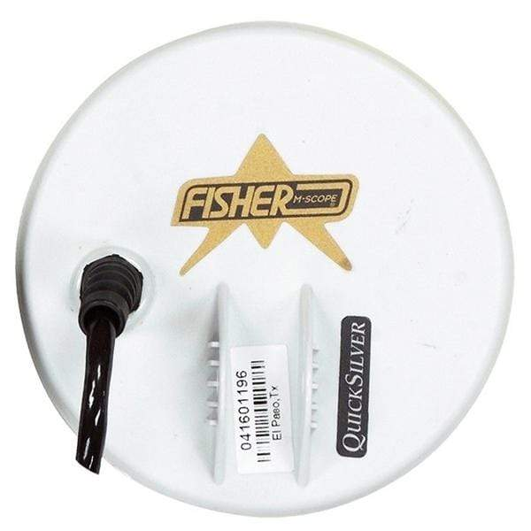 Fisher Coils Fisher 5″ Round White Concentric Search Coil for the CZ-3D 5COIL-7-CZ3