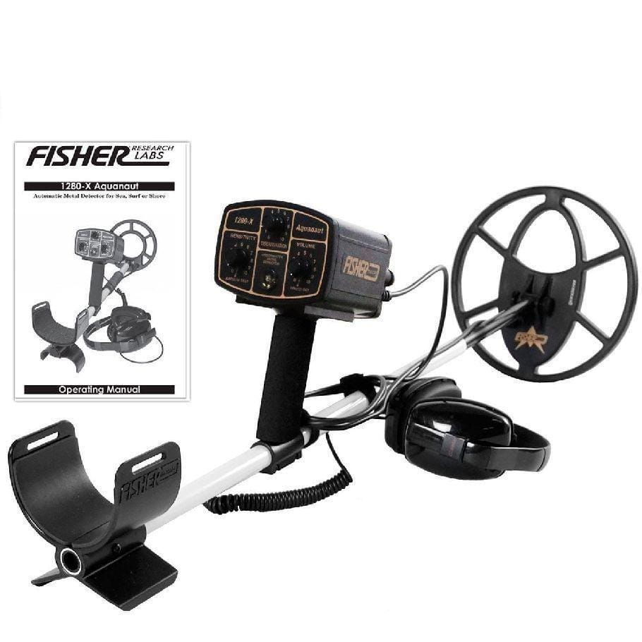 "Fisher Metal Detectors Fisher 1280X Metal Detector with 10"" Concentric Search Coil and 5 Year Warranty 1280X-10"