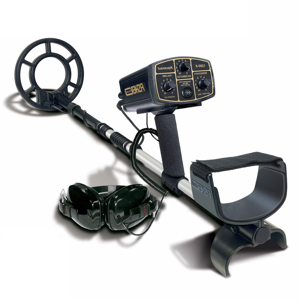 Fisher Metal Detectors Fisher 1280X Underwater Metal Detector with 8″ Search Coil and a 2 Year Warranty 1280X-8