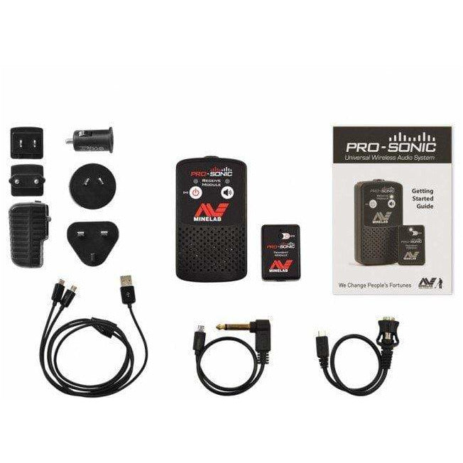 Minelab Accessory Minelab PRO-SONIC Universal Wireless Metal Detector Audio System 3900-0001