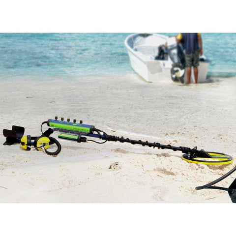 "Minelab Metal Detector Minelab Excalibur II 1000 Metal Detector w/ 10"" Coil and Free accessories"