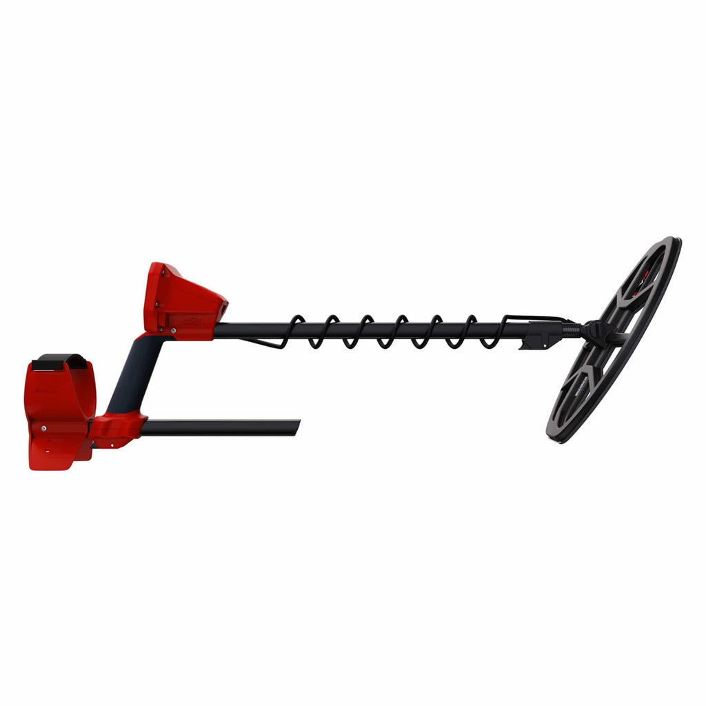 Minelab Vanquish 540 Pro Pack Metal Detector Side View