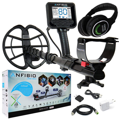 Nokta Makro Metal Detectors Nokta Makro Anfibio Multi Underwater Metal Detector with Wireless Headphones 11000613
