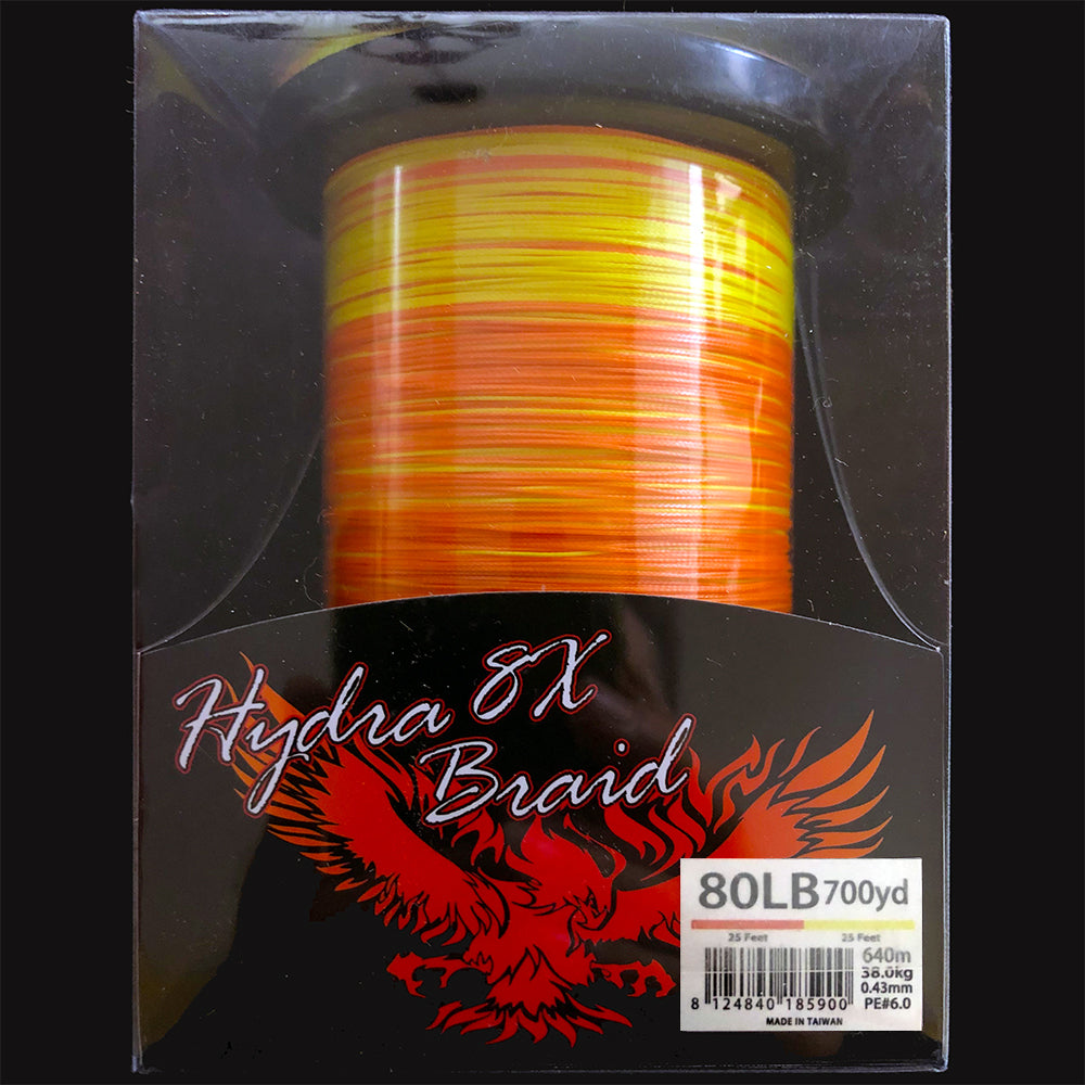 700YD Color Changing Spectra Line. 80 LB