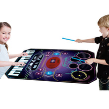 Load image into Gallery viewer, 2 in 1 Music Jam Play Mat
