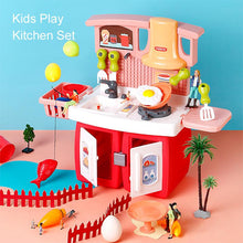 Load image into Gallery viewer, Kids Play Kitchen Set