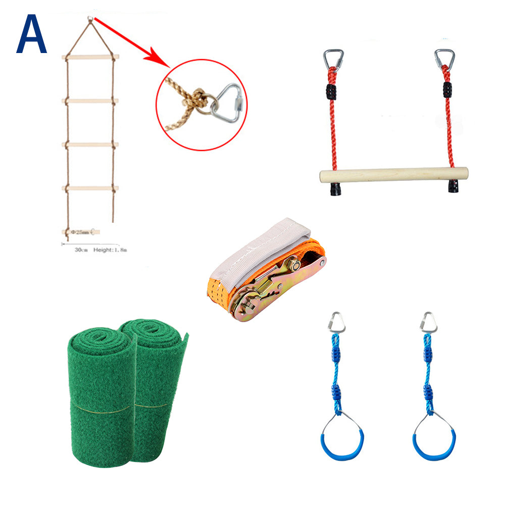 Copy of Slackers NinjaLine Intro Kit with Hanging Obstacles