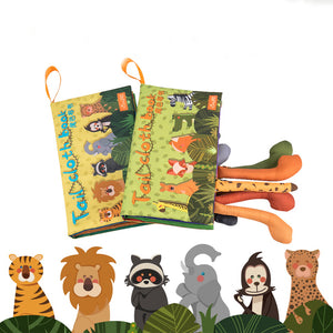 Animal Tails Cloth Book