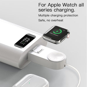 Last Day Promotion - 2 in 1 Magnetic Charger for Apple Devices