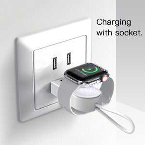2 in 1 Magnetic Charger for Apple Devices