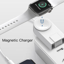 Load image into Gallery viewer, 2 in 1 Magnetic Charger for Apple Devices