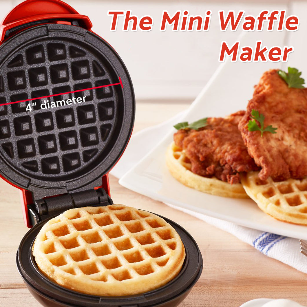 50% OFF today-The Mini Waffle Maker