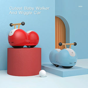 Baby Walker And Wiggle Car