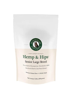 Hemp & Hips – Senior Large Breed