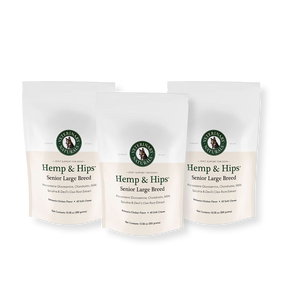 Hemp & Hips Senior Large Breed 3 Pack