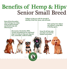 Load image into Gallery viewer, Hemp & Hips – Senior Small Breed 3 Pack