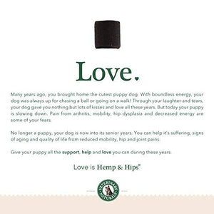 Hemp & Hips Senior Large Breed 4 Pack 20% Off