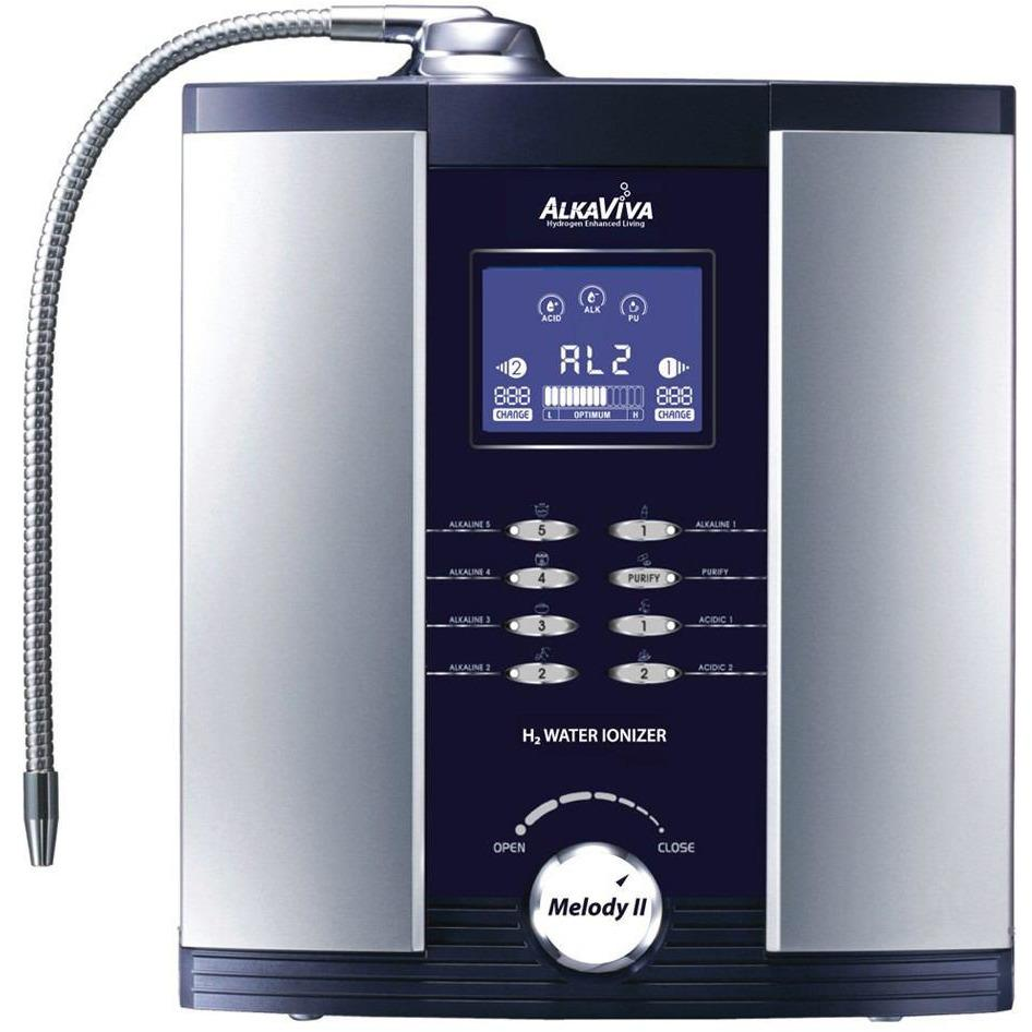 AlkaViva Melody II 5-Plate Water Ionizer & Dual Water Filter Purifier