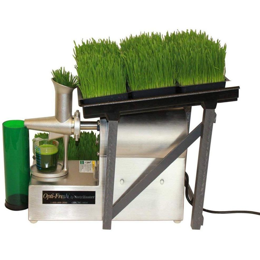 Nutrifaster Opti-Fresh Wheatgrass Juicer