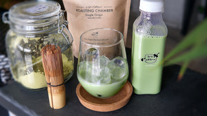Matcha Latte Bottle 350 ML ماتشا لاتيه