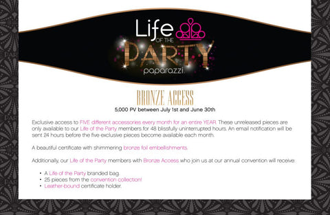 life of the party bronze