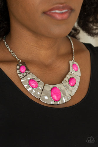 RULER in Favor - Pink Necklace - SavvyChicksJewelry
