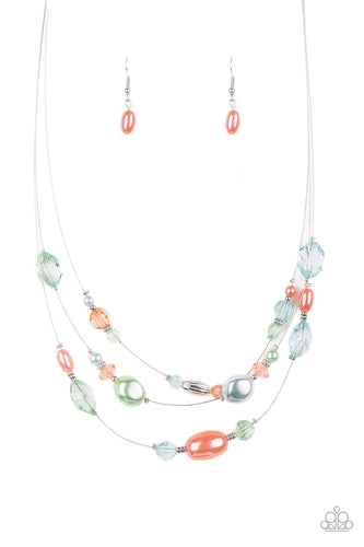 Pacific Pageantry - Multi Necklace - SavvyChicksJewelry
