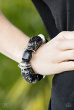 Load image into Gallery viewer, Glaze of Glory - Black Bracelet - SavvyChicksJewelry
