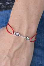 Load image into Gallery viewer, Shoot High - Red Bracelet - SavvyChicksJewelry