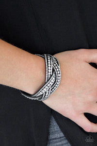 Bring on the Bling - Black Bracelet - SavvyChicksJewelry