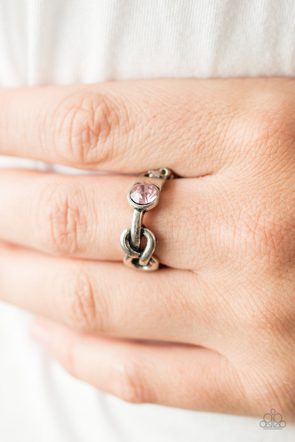 Infinite Posh-ibilities - Pink Ring - SavvyChicksJewelry