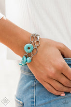 Load image into Gallery viewer, Absolutely Artisan - Blue Bracelet - SavvyChicksJewelry