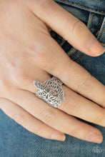 Load image into Gallery viewer, Banded Butterflies - Silver Ring - SavvyChicksJewelry