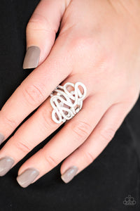 The Run-Around - White Ring - SavvyChicksJewelry
