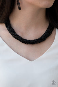 The Speed of Starlight - Black Necklace - SavvyChicksJewelry