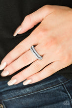 Load image into Gallery viewer, Turn the Other Chic - Black Paparazzi Ring - SavvyChicksJewelry