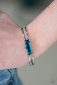 Choose Chic - Blue Paparazzi Bracelet - SavvyChicksJewelry