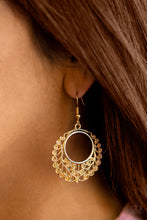 Load image into Gallery viewer, Grapevine Glamorous - Gold Earrings - SavvyChicksJewelry